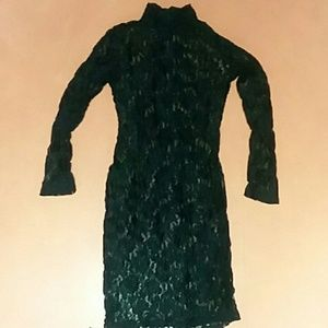 See through lace dress size L